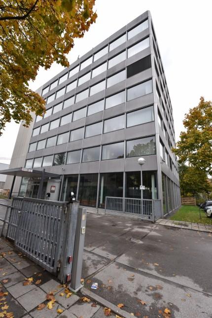 Vormalige Produktionshalle der Firma Deckel in München, 2015