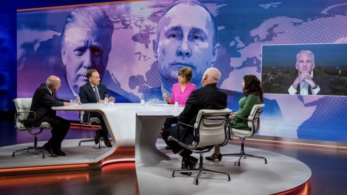 Maybrit Illner zum Fall Nawalny