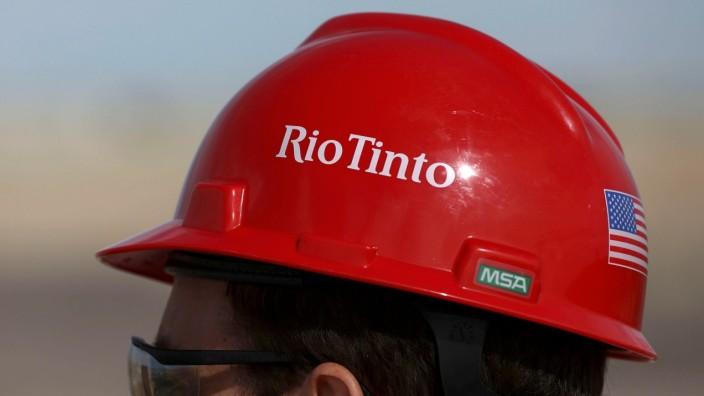 FILE PHOTO: The Rio Tinto mine in Boron, California