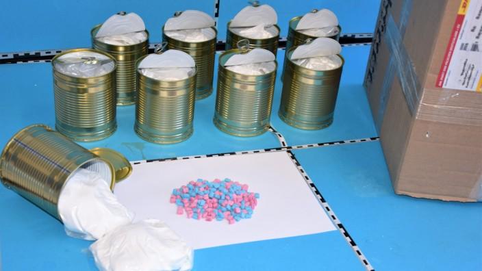 Zoll beschlagnahmt fünf Kilo Amphetamin
