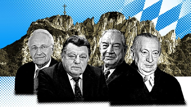 Illustration 75 Jahre CSU Bayern