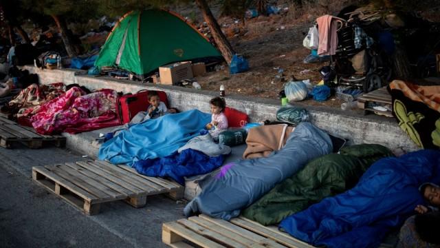 Flüchtlinge Moria
