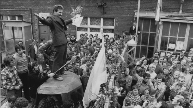 40. Jahrestag der Gründung der Gewerkschaft Solidarnosc