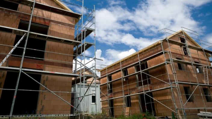 SEYSDORF (Au in der Hallertau): Neubaugebiet mit Einfamilienhäuser