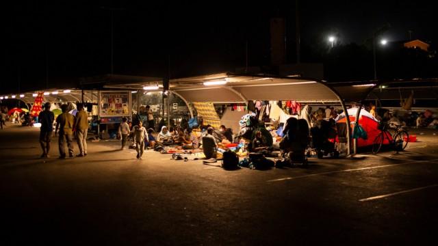 Moria Lager Flüchtlinge