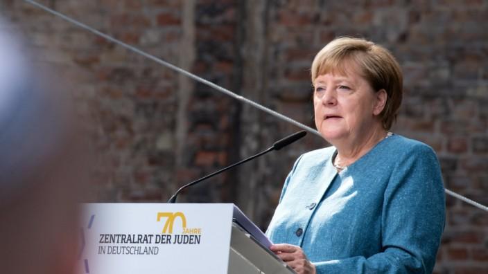 Merkel Zentralrat der Juden Festakt