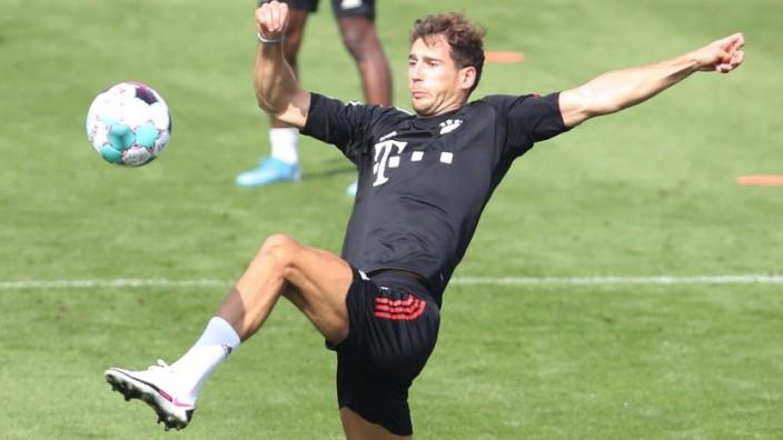 FC Bayern München: Leon Goretzka beim Training