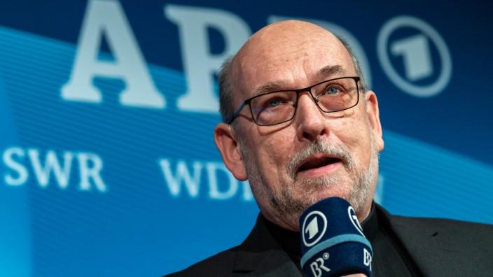 Ulrich Wilhelm, ARD-Vorsitzender und BR-Intendant, nimmt an der A