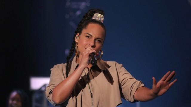 Sängerin Alicia Keys
