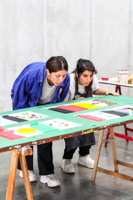 MARTHASHOFEN: Kunstprojekt MAUERFALL