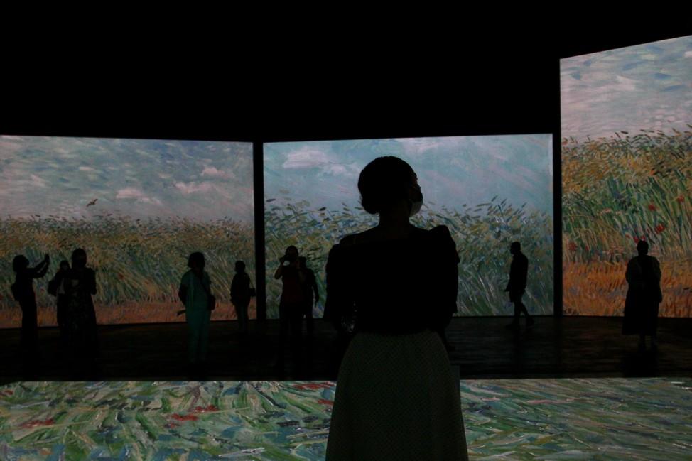 BESTPIX - Van Gogh Alive Exhibition Media Preview