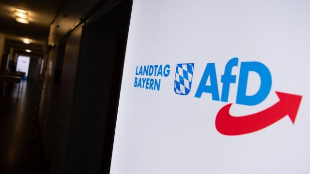 Bayern: Logo der AfD-Landtagsfraktion