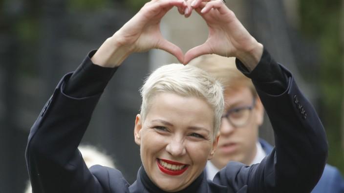 Maria Kolesnikowa mobilisiert Belarus