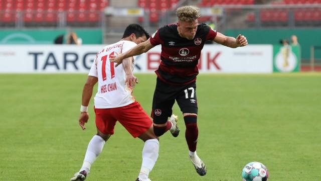 12.09.2020 - Fussball - Saison 2020 2021 - DFB Pokal Vereinspokal - 01. Runde: 1. FC Nürnberg Nuernberg FCN ( Club ) - R
