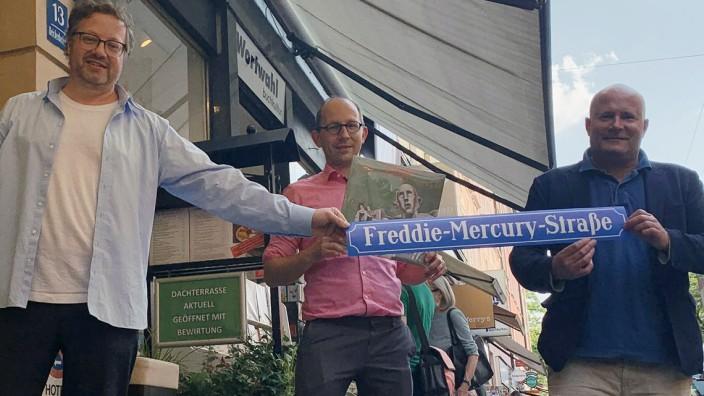 München ehrt Freddie Mercury mit eigener Straße