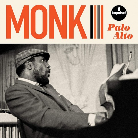 Thelonious Monk in Palo Alto Cover
