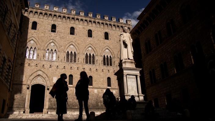 Italian bank Monte dei Paschi di Siena