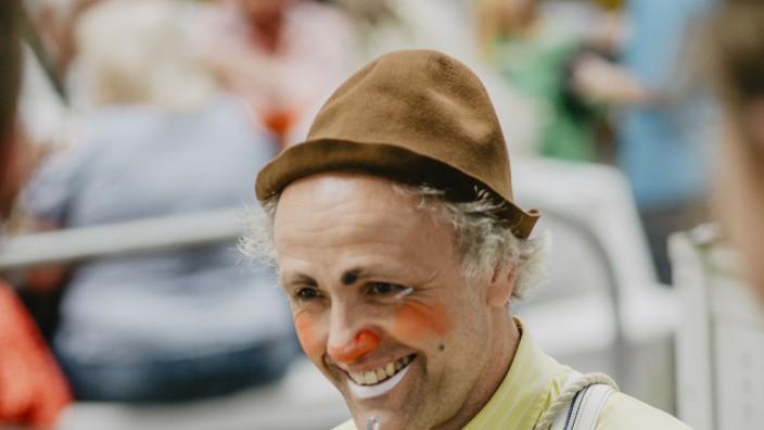 Clown Pippo alias Stefan A. Pillokat  aus Markt Schwaben