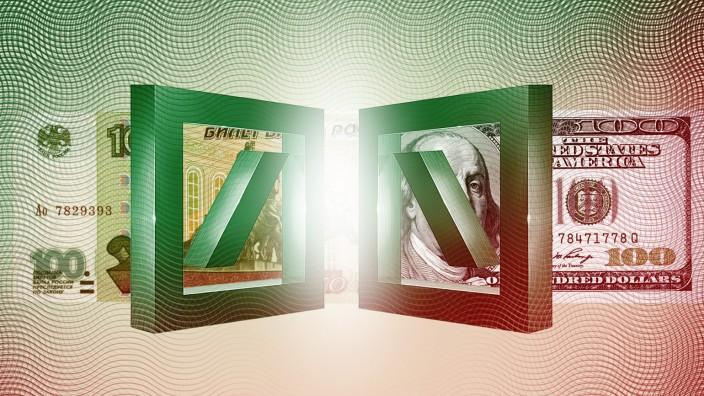 FinCEN-Files: Habe Rubel, brauche Dollar: Sogenannte Spiegelgeschäfte gehörten zum Repertoire der Deutschen Bank.