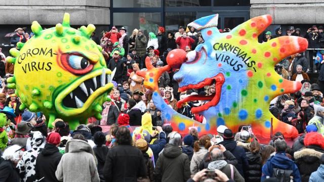 Karnevalswagen im Februar 2020