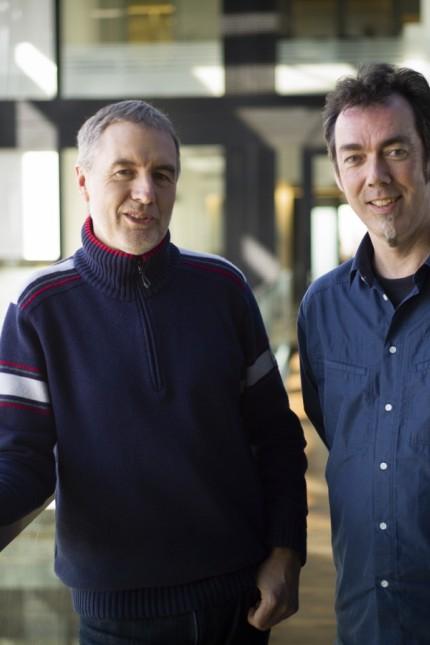 Thomas Soyer und Klaus Ott; SZ-Werkstattgespräche, Klaus Ott & Tom Soyer;, Foto: Jakob Berr