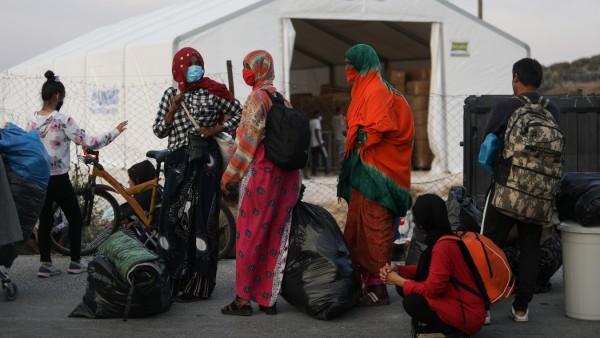 Flüchtlinge Lesbos Moria