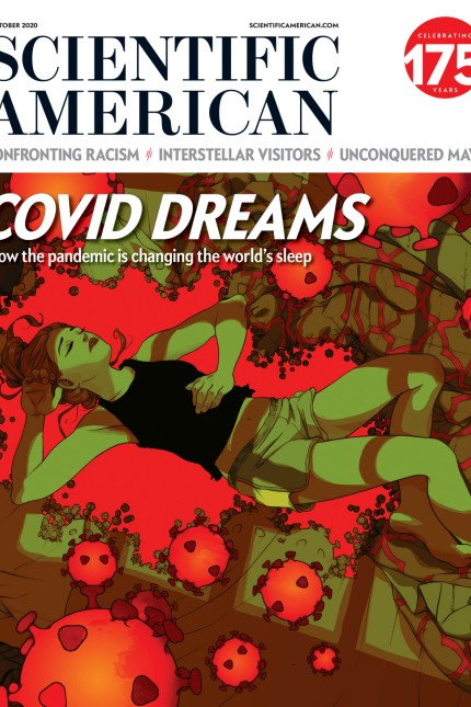 Scientific American Oktober Issue 2020 Cover