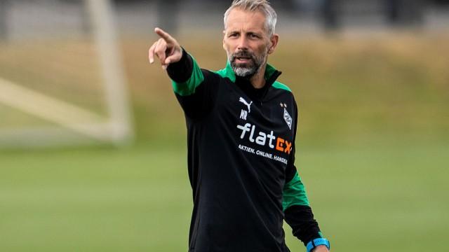 Mönchengladbachs Trainer Marco Rose