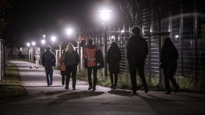 """Adaptive Straßenbeleuchtung """"Bei Bedarf Licht"""" in München, 2019"""