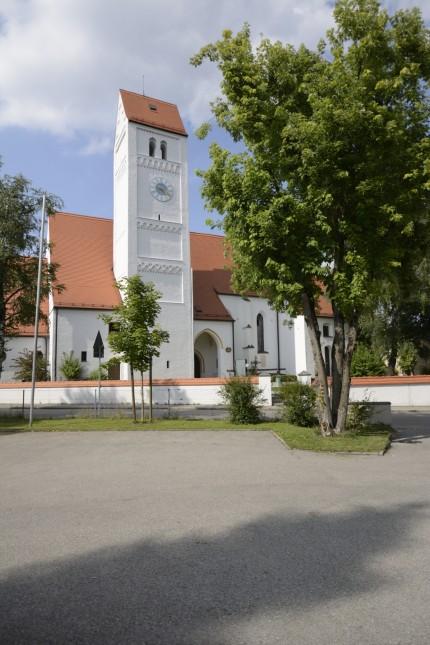Kirche St. Quirin in München, 2014