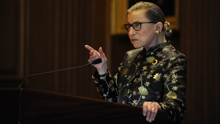 May 3, 2016 - Washington, District of Columbia, U.S. - U.S. Supreme Court Justice RUTH BADER GINSBURG attends an award