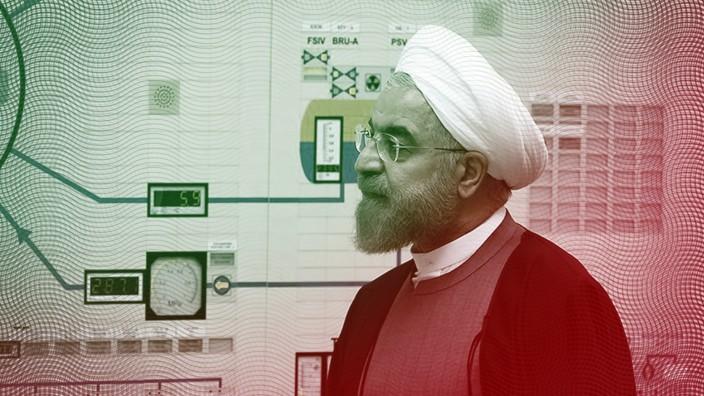 Atomabkommen mit dem Iran droht R¸ckschlag