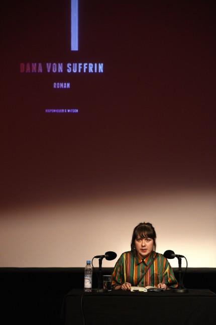 """Dana von Suffrin beim """"Wortspiele"""" Literaturfestival in München, 2020"""