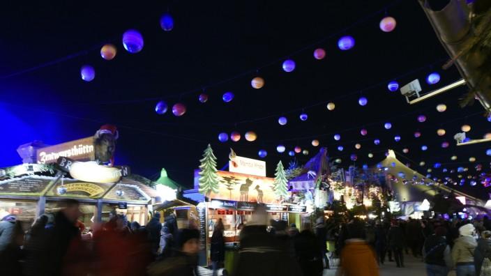 Tollwood-Winterfestival in München 2019