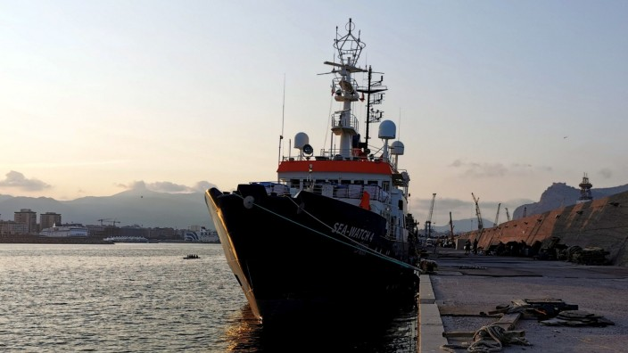 """Rettungsschiff ´Sea-Watch 4"""" in Palermo festgesetzt"""