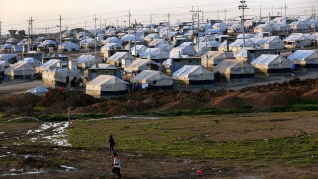 UNHCR-Zelte im Irak