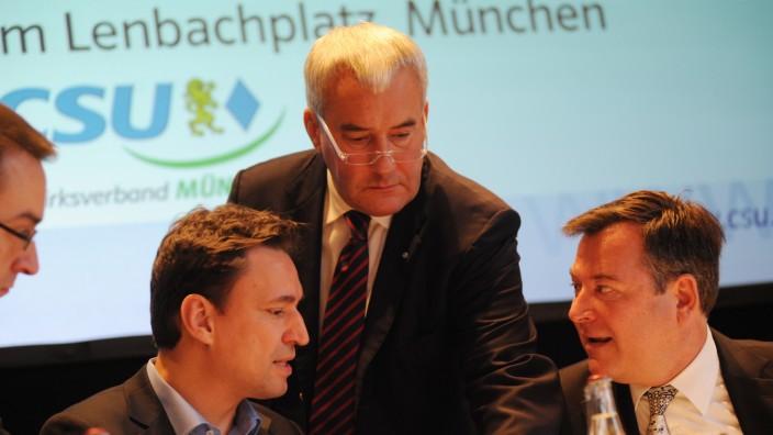 Listenaufstellung der CSU für Kommunalwahl in München, 2013