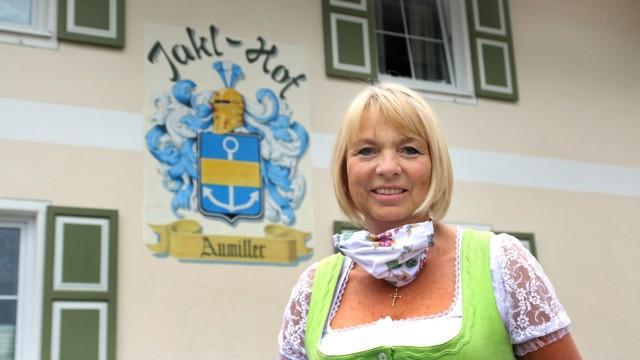 Claudia Aumiller vom Jakl-Hof in Wörthsee, 2020