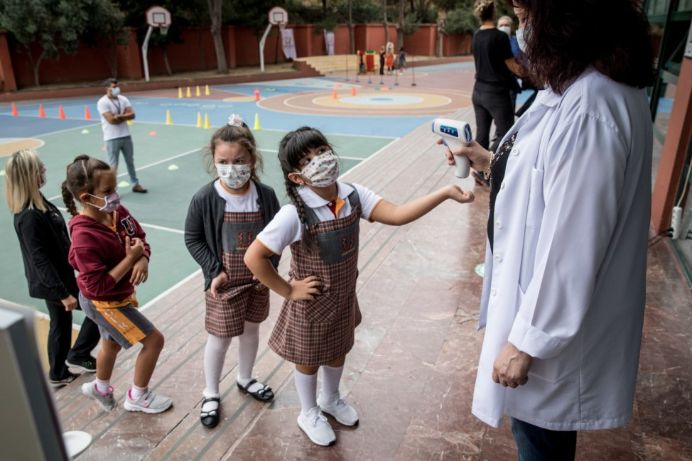 *** BESTPIX *** Turkey Reopens Schools To First Grade Students Amid Coronavirus Pandemic