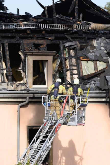 Brand Mehrfamilienhaus Dresden