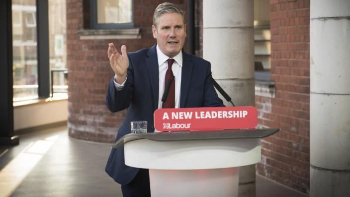 Britain's Labour leader Keir Starmer
