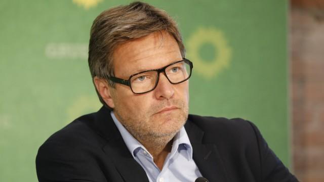 Robert Habeck, Bundesvorsitzender von BÜNDNIS 90/DIE GRÜNEN , Deutschland, Berlin, Klausur des Bundesvorstandes von BÜN