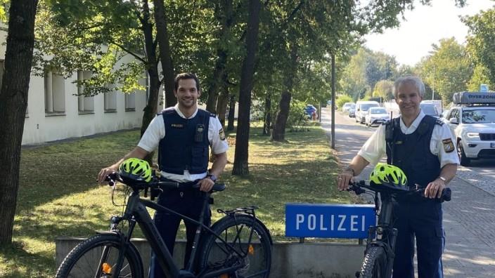 Germeringer Polizei geht ab sofort mit Pedelec´s auf Streife