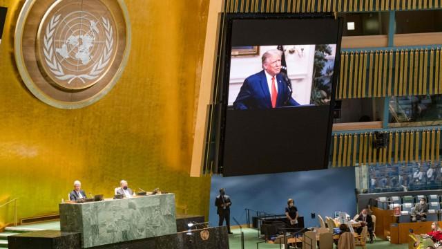 Donald Trump, UN-Generaldebatte