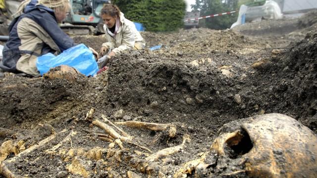 Starnberg Ausgrabung
