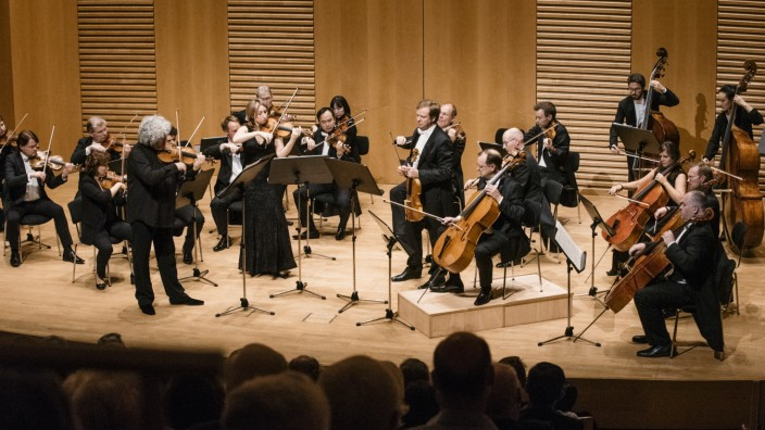 Grünwald, August-Everding-Saal, Konzert Mariinsky Stradivarius Ensemble und Kammerorchester der Münchner Philharmoniker,