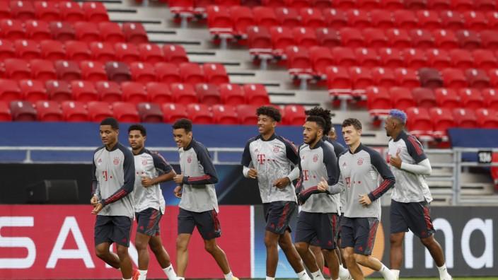 UEFA Supercup - Abschlusstraining FC Bayern München