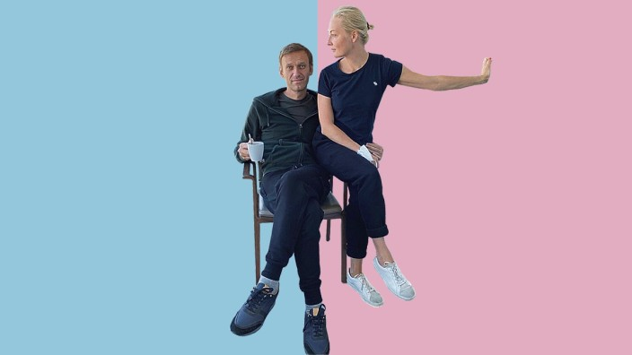 Ladies & Gentlemen: Mit diesem Bild meldete sich Alexej Nawalny zurück ins Leben.