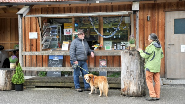 Höhenrain: Edeltraud Mayr führt den Kiosk genannt Standl