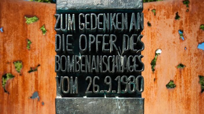 Oktoberfestattentat Oktoberfestanschlag Gedenktafel Gedenktafel Mahnmal